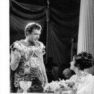 Richard Burton communicate with his wife Elizabeth Taylor. - 8x10 photo
