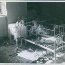 Siege of Warsaw. War damages after the bombing in Poland. 1939Bad condition of