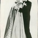 Audrey Hepburn posing with Fred Astaire   - 8x10 photo