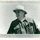 Winston Churchill, with sun hat, smoking cigar. - 8x10 photo