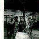 Salvador Dali holding a pole. - 8x10 photo