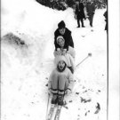 Geraldine Chaplin skiing. - 8x10 photo