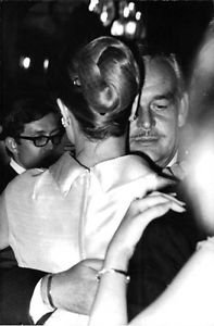 Rainer III, Prince of Monaco dancing with his wife Grace Kelly.   - 8x10 photo