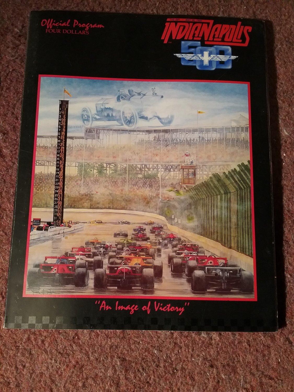 1985 Indianapolis 500 Program  07071676