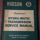 Hudson Hydra-Matic Transmission Service Manual-1953 Original