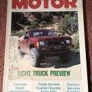 Vintage Motor Magazine, April 1986 , Light Truck SKU 07071619