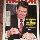 Vintage Motor Magazine, Rare Ronald Reagan Cover Nov 1986 , SKU 07071626