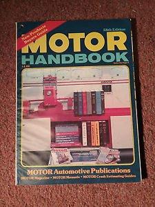 Vintage Motor Handbook Magazine,  58th Edition SKU 07071632