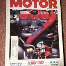 Vintage Motor Magazine, September 1986 , Servicing SFI  SKU 07071624