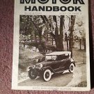Vintage Motor Handbook Magazine,  5oth Edition, 1973 SKU 07071636
