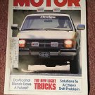 Vintage Motor Magazine, October 1986 , Chevy Shift Problem  SKU 07071625