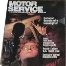 Vintage Motor Service Magazine, Dec 1986, emissions, sku07071611