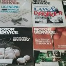 Vintage 1992 Motor Service Magazines  8 Issues 1 still in plastic. sku 07071606
