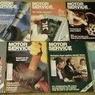 Big Lot, 7 Vintage 1988 Motor Service Magazines, sku 07071603