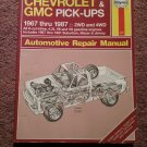 Haynes 420 Chevy & GMC 1967-1987 Repair Manual 07071692