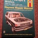 Haynes 36058 Ford Picky-ups & Broncos 1980-1996 Manual 07071693