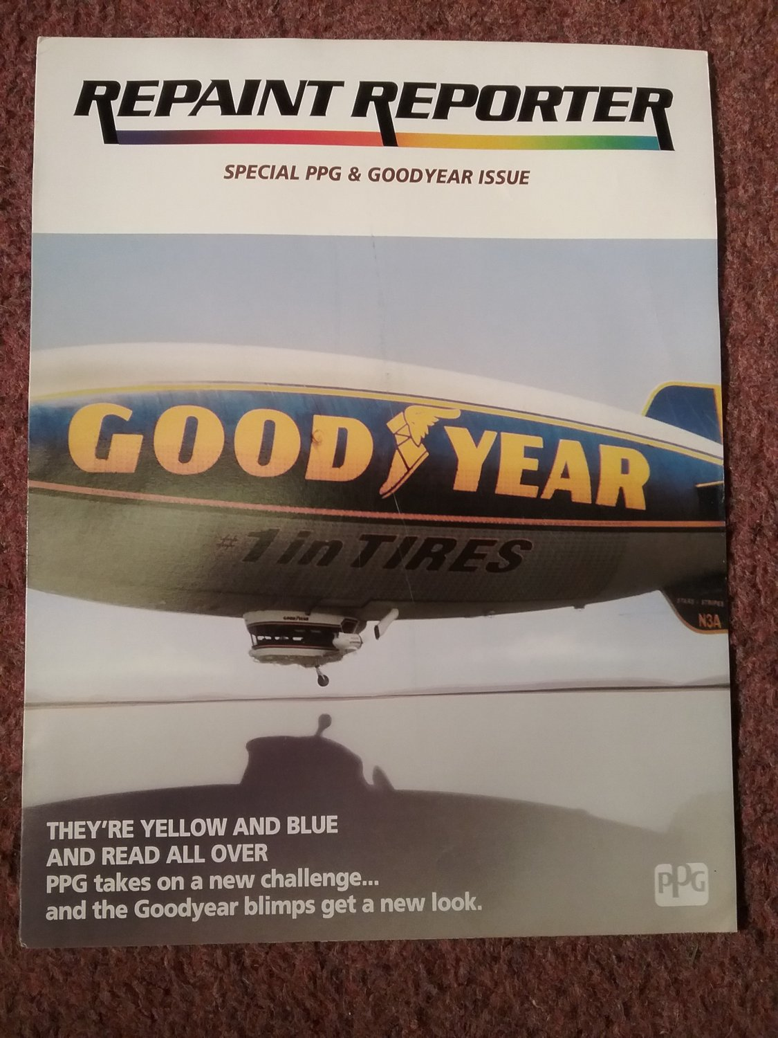 PPG Repaint Reporter. Special PPG & Goodyear Issue 0716137