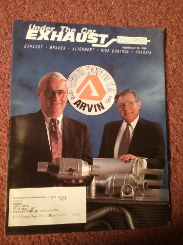 Exhaust News Magazine Sept 15, 1994 Adding Hitches 070715157