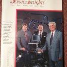 Under the Car Insights Magazine November 1995 Oxygen Sensors  070716180