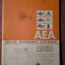 Vintage 1969 AEA Quick Reference Catalog 070716227