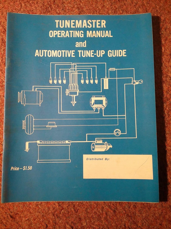 TUNEMASTER Operating Manual  070716261