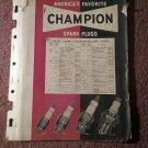 Vintage Champion Spark Plug Chart 070716234
