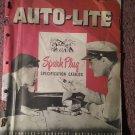 Vintage Auto Lite Spark Plug Catalog 070716232