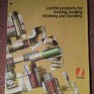 Vintage 1970 Loctite Product Literature 070716284