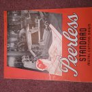 Vintage Peerless Standard Cutting Saws Buillein  070716303