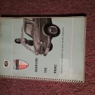 Vintage NSU Printz Owners Manual 070716306