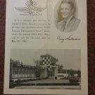 Vintage 1967 Indy Indianapolis Souvenir Museum Booklet 070716309