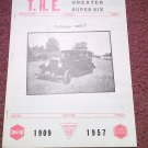 Vintage July. 1967 T.H.E. Greater Super Six Club Hudson Club 070716331