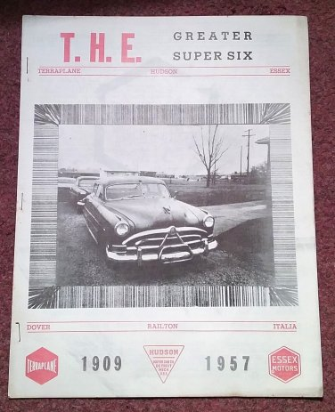 Vintage March 1967 T.H.E. Greater Super Six Club Hudson Club 070716334
