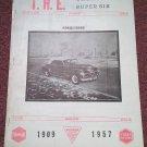 Vintage April  1968 T.H.E. Greater Super Six Club Hudson Club 070716344