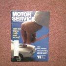 Vintage March 1989 Motor Service Magazine, CARB Problems, TRANS 070716353