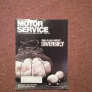 Vintage March 1992 Motor Service Magazine, Cost Value Ratios  070716363
