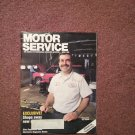 Vintage April 1992 Motor Service Magazine, Electronic Diagnosis: Honda  070716364