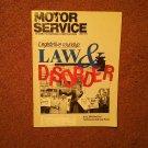 Vintage June 1992 Motor Service Magazine, Legislation  070716366