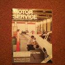 Vintage April 1991 Motor Service Magazine, Nissan Engine Sealing 070716372