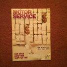 Vintage June 1991 Motor Service Magazine, Volvo Engine Sealing  070716374