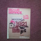 Vintage Sept 1991 Motor Service Magazine, 70th Year 070716376