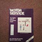 Vintage April1990 Motor Service Magazine,  Restoring Valve Harmony 070716383