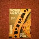 Vintage  May 1990 Motor Service Magazine,  Cat Clogged 070716384