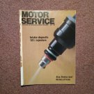 Vintage July 1990 Motor Service Magazine,  Intake Deposits  070716386