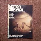 Vintage September 1990 Motor Service Magazine, Subaru Steering 070716388