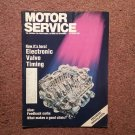 Vintage October 1990 Motor Service Magazine, Electronic Valve Timing 070716389