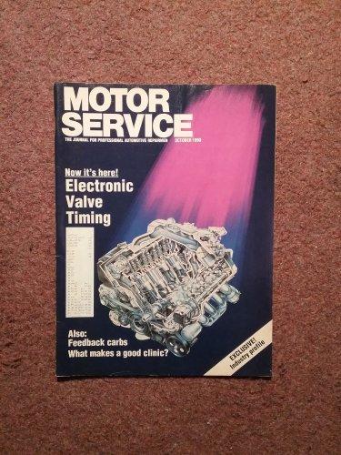 Vintage October 1990 Motor Service Magazine, Electronic Valve Timing 070716389