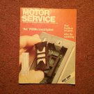 Vintage October 1988 Motor Service Magazine, Body Shop 070716397
