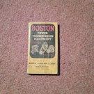 Vintage Boston Power Transmission Equipment Catalog SMALL  070716430