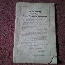 Hudson Terraplane Owners manual (No Year) 070716435